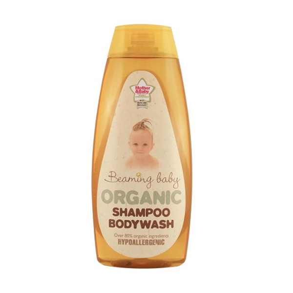Beaming Baby Certified Organic Shampoo & Bodywash 250ml