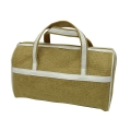 Jute Travel Kit Bag