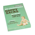 Beaming Baby Bio-degradable Nappy Sacks Fragrance Free (60 sacks)