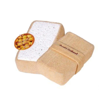 Soya Bean & Loofah Rectangle Bath Scrubber
