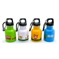 Cartoon Series Kids Stainless Steel Drinking Bottle (130ml) - Blue