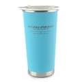 Stainless Steel Double Wall Heat Insulated Cup - Blue