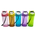 Creative Face Reusable Water Bottles - Purple