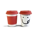 'I Am Not a Paper Cup' - Thermal Porcelain Mug (230ml) - Red
