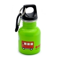 Cartoon Series Kids Stainless Steel Drinking Bottle (130ml) - Green