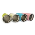 Stainless Steel Double Wall Heat Insulated Cup - Pink